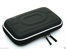 "Black Hard Carry Case Pouch Bag Zipper Pouch 2.5"" HDD GPS Garmin Nuvi Portable"