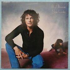 B.J. THOMAS ~ NEW LOOKS ~ 1983 DUTCH 10-TRACK LP RECORD ~ EPIC EPC 25378