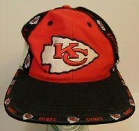 Vintage 90s KANSAS CITY CHIEFS PRO PLAYER Daniel Young NFL Football Snapback Hat
