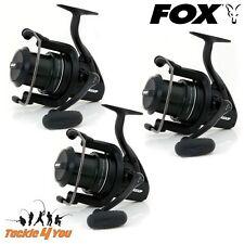 Fox FX9 x 3 Mini Big Pit Carp Reels - CRL069 + FREE DELIVERY