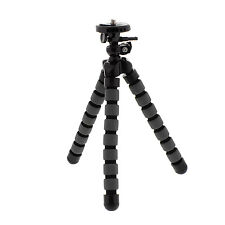 Foam Leg Mini Flexible Octopus Tripod Stand for Camera SLR DSLR Smartphone GoPro