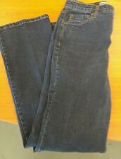 """LEVI STRAUSS SIGNATURE at Waist Boot Cut Jeans Size 6 M Actual W28 L30 Rise 10"""""""