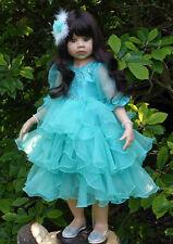 """Masterpiece Dolls * Jasmine Brunette * Monika Levenig * 39 """"  Vinyl Doll"""