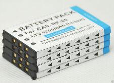 New 4x NP-20 Battery for EX-Z7 Z75 Z8 Z12 Z15 EX-Z18 Z60 Z70 Z77 Z60BK NP20 Cam