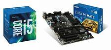 Msi Motherboard Intel Cpu Core i5 6500 Processor Z170A PC MATE ATX Form Bundle