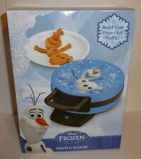 Olaf the Snowman Disney Frozen Themed Waffle Maker Build Your Own Olaf Waffle!