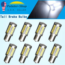 8X White 1156 33SMD 5630/5730 Backup Reverse Tail Brake Lights Parking LED Blubs