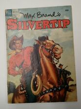 Four Color 491 Max Brand's Silvertip western Dell Comic
