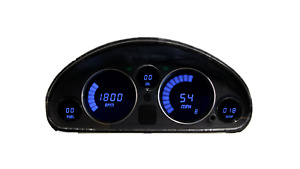 1989-1997 Mazda Miata 5 Digital Dash Panel Blue LED Gauges Made In The USA