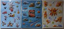 Disney Set of 3 Sticker Sheet Mickey & Friends, Cars & Winnie The Pooh & Friends