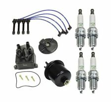 OEM Tune Up KIT Wire Spark Plugs Fuel Filter for Honda Civic CX DX LX 1996-2000