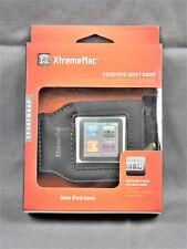NEW XtremeMac iPod Nano Neoprene Sport Band Sportwrap Cover Arm Band (Black)