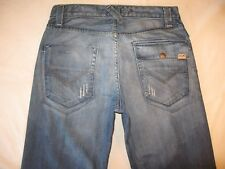 Energie Jeans Mens Kirk Low Waist Straight Leg Distressed Sz 31 X 33  USA made