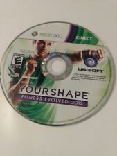Your Shape: Fitness Evolved 2012 (Microsoft Xbox 360, 2011) Free S&H