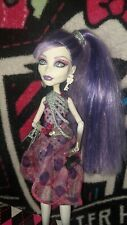 Monster High Spectra Vondergeist doll with earrings, belt, shoes, *Repaired*