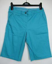 Maine New England Turquoise  Cotton Chino Summer shorts size 12 - 20