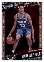 2017-18 Prestige Micro Etch Markelle Fultz 76ers Sixers #1 Rookie RC Insert