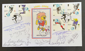 2006 Word Cup Anniversay Official FDC signed by 10 of the winning team
