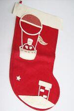 Vintage 50's ETHEL HUBBARD Christmas Stocking