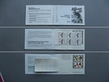 GERMANY BRD, Privat booklet 1984 MNH, Red Cross, Wohlfahrtsmarken, flower orchid