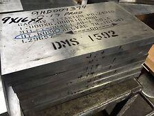 "Titanium Plate 6Al4V 10.375"" x 13.5"" x 1"""