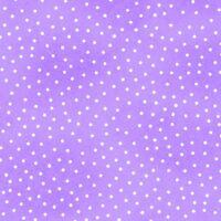 Fabric Dots White on Purple Flannel by the 1/4 yard BIN