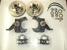 chevrolet gmc chevy c10 truck disc brake conversion 5 lug stock height spindles