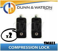 Small Black Compression Lock / Handle / Latch (Pop Omega Trailer Canopy ) x2