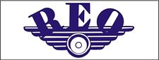C004 REO Automobile car truck antique vehicle banner garage signs