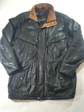 Wilsons The Leather Experts Men's Sz S Thinsulate Black Coat Jacket Zip Button