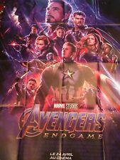 Lot 2 Affiches - AVENGERS: ENDGAME - Affiches cinema 120x160 Et 40x60 Poster