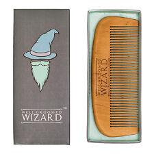 Peine barba de madera, Clásico barba y bigote bien cuidados asistente Peine por
