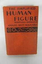"""First Edition (1936) """"The Simplified Human Figuire,"""" by Best-Maugard, Knopf."""