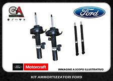 Kit 4 ammortizzatori anteriori posteriori Originali Ford Fiesta  Motorcraft
