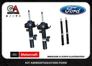 Kit 4 ammortizzatori anteriori posteriori Motorcraft Originali Ford Fiesta