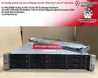 "HP D3600 144TB 12G SAS STORAGE 12x HP 12TB 12G 7.2K 3.5"" SAS HDD"
