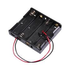 4x AA Contenitore Porta Batteria per Batterie Stilo Tipo Posti Adiacenti