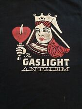 The Gaslight Anthem Queen Of Hearts T shirt Size Large Vintage