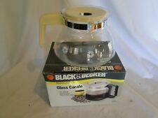 Black & Decker Replacement Glass Carafe Fits SDC2C Spacemaker Drip Coffeemaker