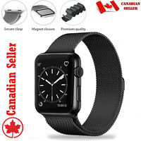 Replacement Milanese Loop Straps For Apple Watch 40 42 44 Series 1 2 3 4 5 6 SE