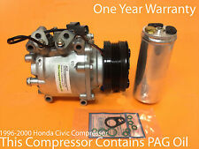 1996-2000 Honda Civic Compressor All Models Remanufactured Compressor Kit w/WRTY