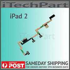 Power On Off Switch Mute Volume Button Flex Cable Replacement For iPad 2