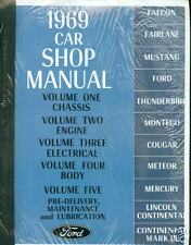 1969 MUSTANG/GT/MACH 1/FAIRLANE SHOP MANUAL