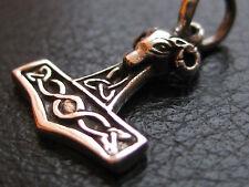 Thor s Hammer kleiner feiner Ketten Anhänger Silber 925er Wikinger / KA 041