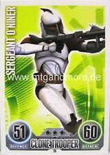 Star Wars Force Attax  Sergeant O'Niner #014