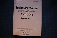 HITACHI EX1100-3Excavator Technical Manual Book service repair 1999 guide shop