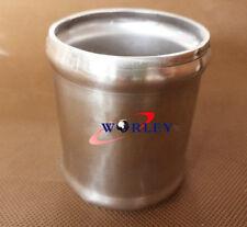 "51mm 2"" Manguera de Aluminio Tubo Adaptador Conector Acoplador Tubo Carpintero L = 76mm"
