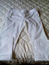 Pantalone jeans donna TOMMY HILFIGER bianco stretch TG 30