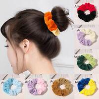 Fabric Scrunchies Ponytail Women Hair Band Elastic Hair Bands Scrunchy Girls