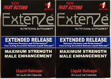 EXTENZE Extended Release Maximum Strength Fast Acting Male Enhancement 60 Pills